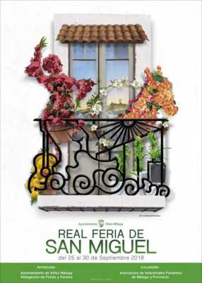 Cartel de la Feria San Miguel Vélez-Málaga 2018