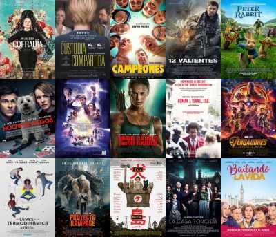 Películas en la Fiesta del Cine Málaga Mayo 2018