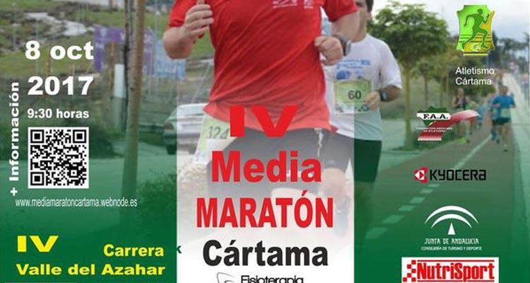 Media Maratón de Cartama 2017 y Carrera Popular Valle del Azahar