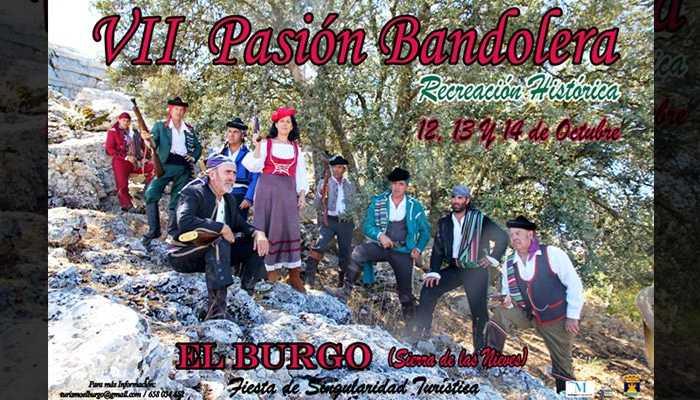 Pasión Bandolera de El Burgo 2018. Recreación Histórica