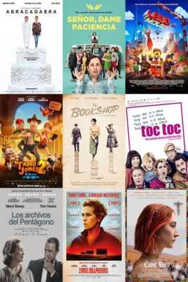 Películas de el Cine en tu Zona Málaga 2018-2019