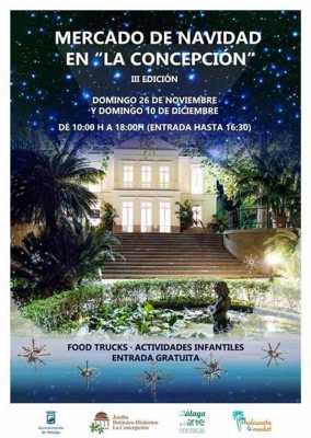 Mercado de navidad jard n bot nico 2017 for Conciertos jardin botanico 2017
