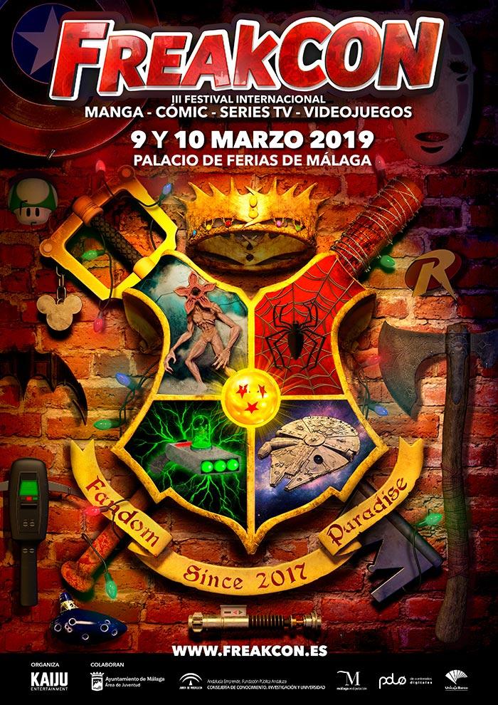 Freakcon 2019. Salón del cómic, manga, videojuegos, series...