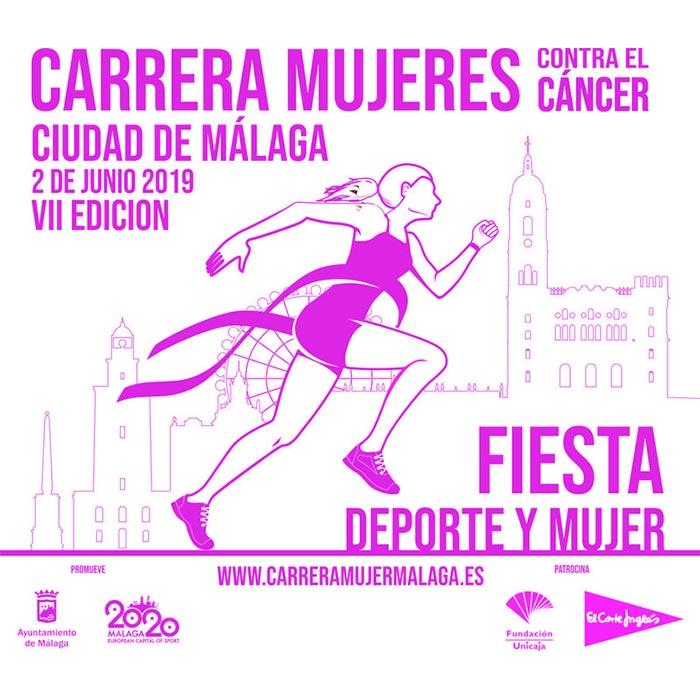 Carrera Mujeres Contra el Cáncer Ciudad de Málaga 2019