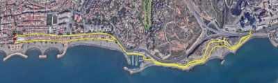 Recorrido de 5 km de la Carrera Popular El Palo 2019
