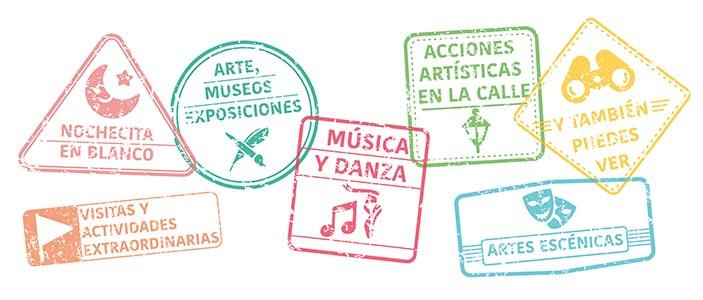 Categorías de la Noche en Blanco de Málaga 2019
