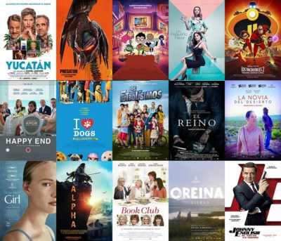 Películas para la Fiesa del Cine Octubre 2018