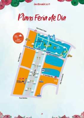 Plano de la Feria de Día de Marbella 2019