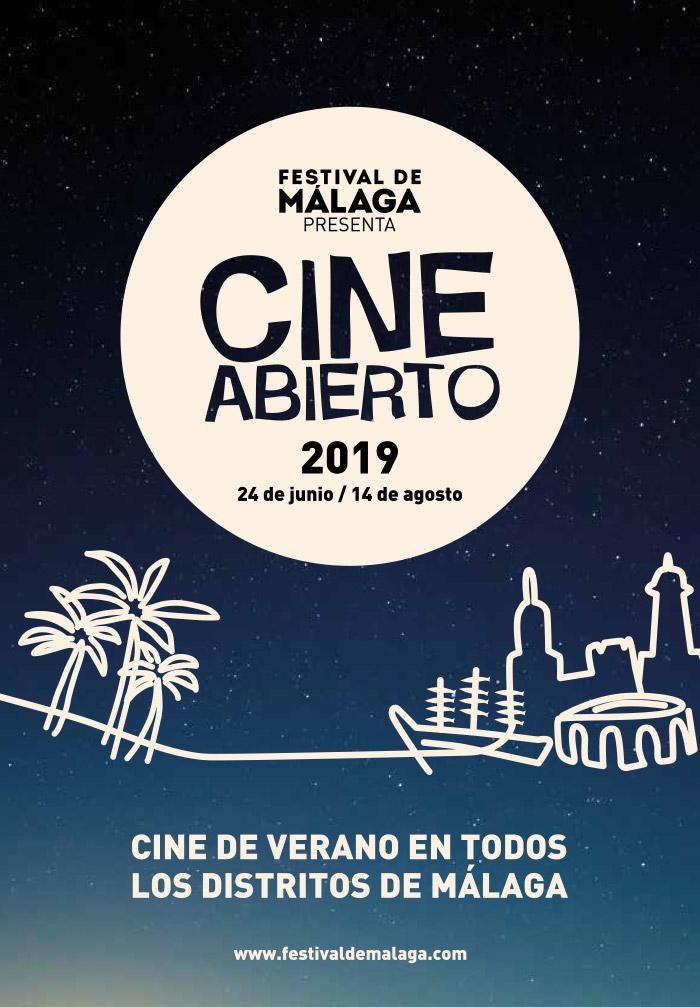 Cine Abierto de Verano en Málaga 2019