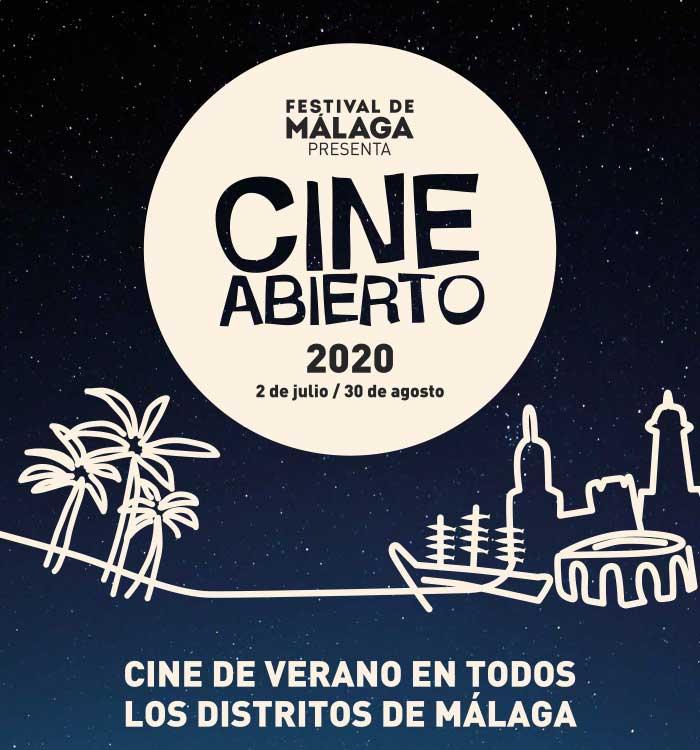 Cine Abierto de Verano en Málaga 2020
