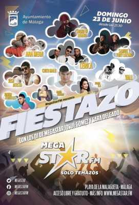 Concierto Noche de San Juan en la playa de la Malagueta 2019