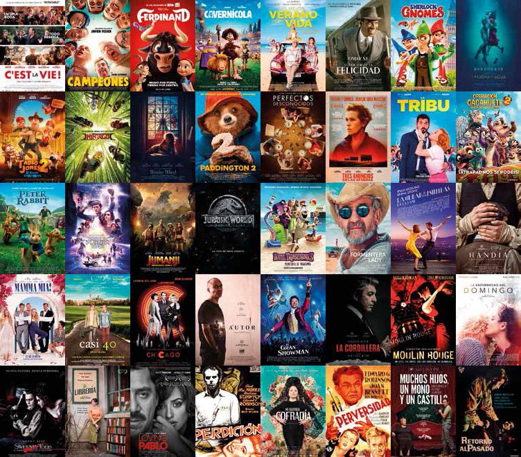 Películas del Cine de Verano en Málaga 2019