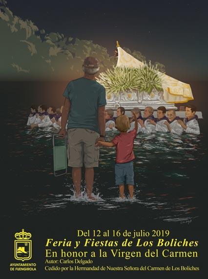 Feria de Los Boliches. Virgen del Carmen 2019