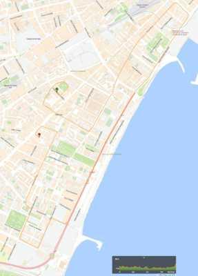 Recorrido de la Carrera Urbana El Torcal - La Paz