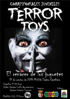 Casa del terror de Cártama 2019. Terror Toys