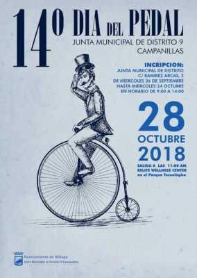 Cartel del Día del Pedal de Campanillas 2018