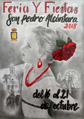 Cartel de la Feria San Pedro Alcántara 2018