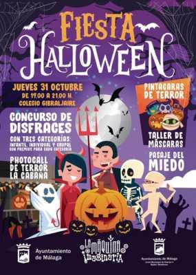 Fiesta de Halloween en Bailén-Miraflores 2019