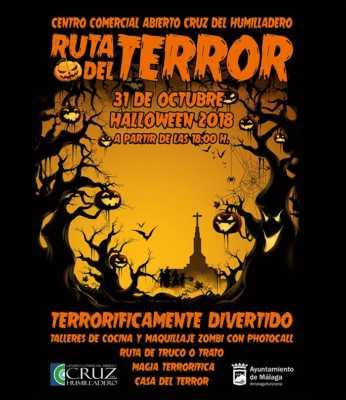 Ruta del Terror en Cruz del Humilladero. Halloween 2018