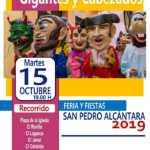 Pasacalles de gigantes y Cabezudos en la Feria de San Pedro 2019