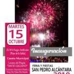 Inaugurción Feria y Fiestas de San Pedro Alcántara 2019