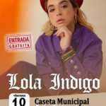 Concierto de Lola Índigo en la Feria de San Pedro Alcántara 2019