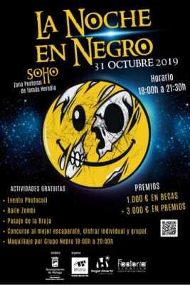 Noche en Negro Soho Málaga 2019