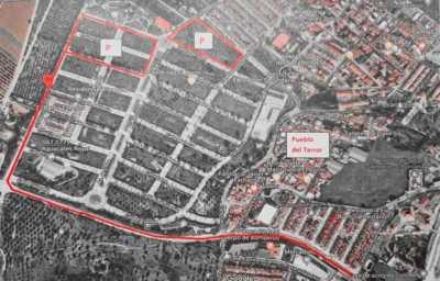 Zona de aparcamientos en Churriana para Halloween 2019