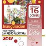 Inauguración Feria de Día de San Pedro Alcántara 2019