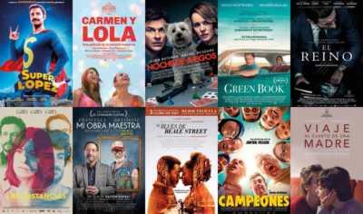 Películas del Cine en tu Zona Málaga 2019-2020