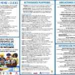Díptico actividades Exposición Playmobil Antequera 2018-2019