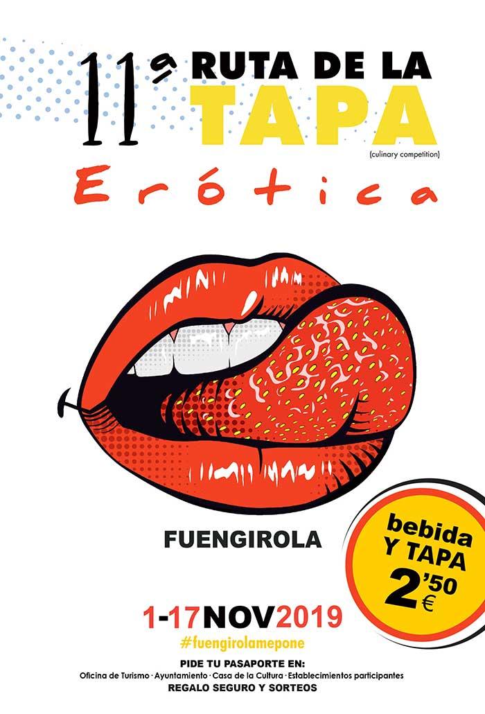 Ruta de la Tapa Erótica de Fuengiorla 2019