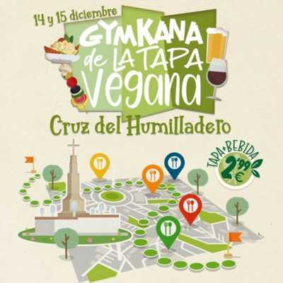 Ruta de la tapa vegana en Cruz de Humilladero. Cartel