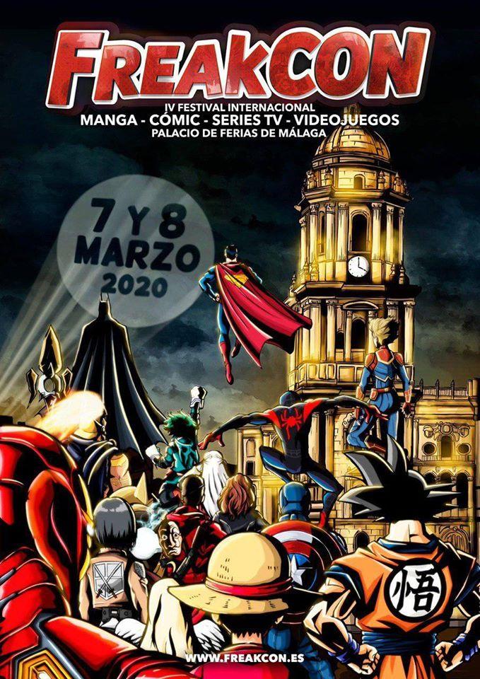 Freakcon 2020. Manga, cómic, películas, series, videojuegos...