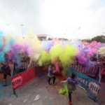 Fiesta Holi Málaga polvos de colores