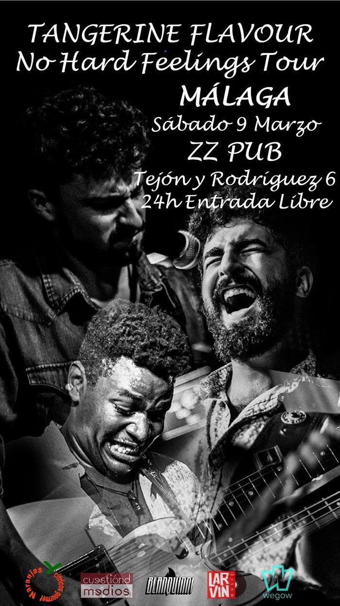 Tangerine Flavour, concierto 2019 en ZZ Pub de Málaga