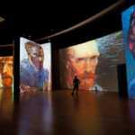 Autorretratos en la Van Gogh Alive de Málaga