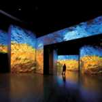Pinceladas de colores bibrantes en Van Gogh Alive
