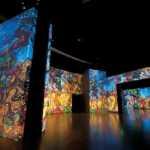 Dentro de la exposición multimedia Van Gogh Alive