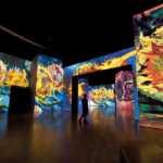 Girasoles en la expo de Van Gogh en Málaga