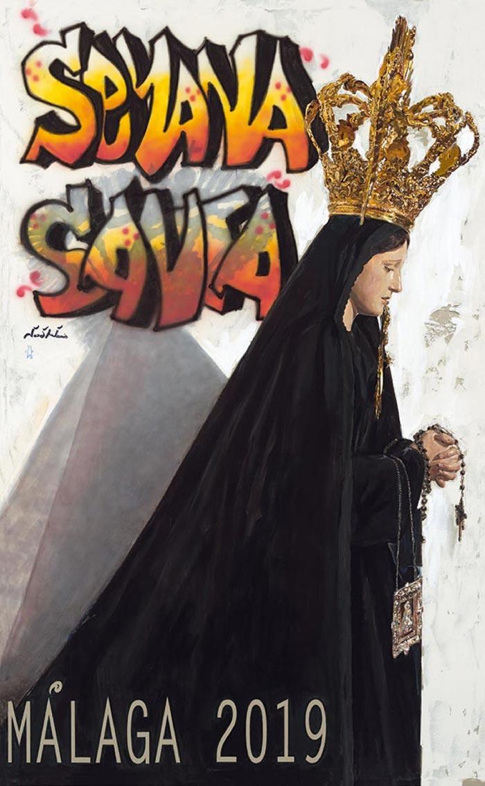 Cartel de Semana Santa de Málaga 2019