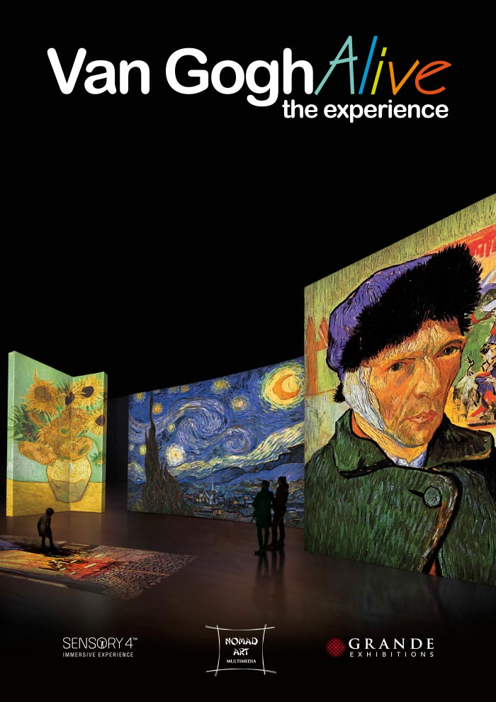 Van Gogh Alive Exposición en Málaga 2019