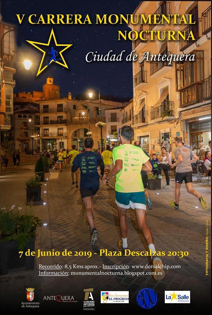 Carrera Monumental Nocturna de Antequera 2019