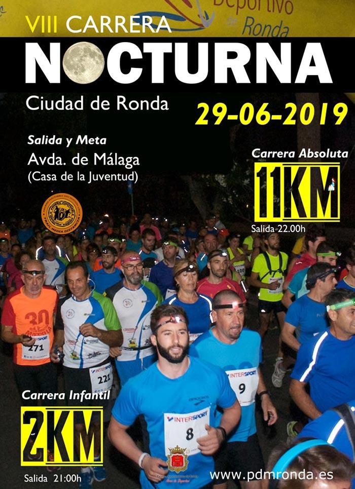 Carrera Nocturna Ciudad de Ronda 2019
