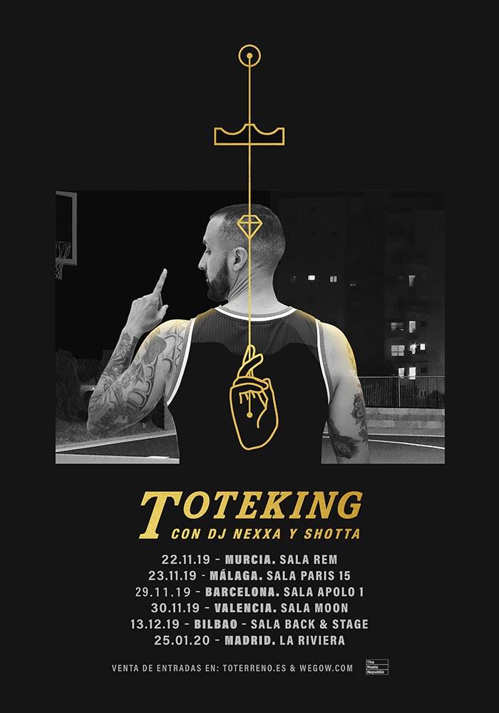 Tote King. Concierto en Sala París 15 (noviembre 2019)
