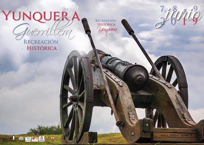 Yunquera Guerrillera 2019. Representación histórica