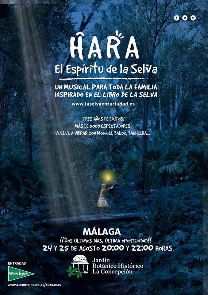 Hara, el Espíritu de la Selva 2019 en el Jardín Botánico