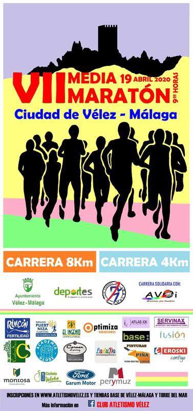 Media Maratón de Vélez-Málaga 2020. Y C8K y C4K