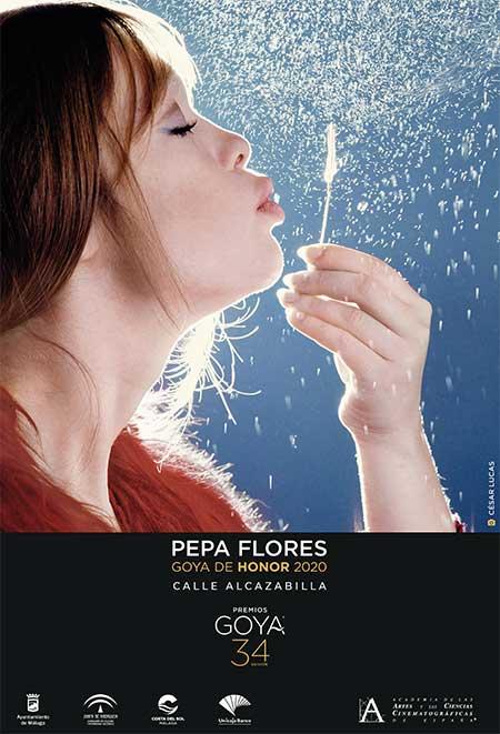 Pepa Flores, Goya de Honor 2020