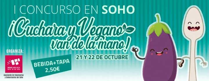 ¡Cuchara y vegano van de la mano! Ruta de la tapa Soho Málaga 2020